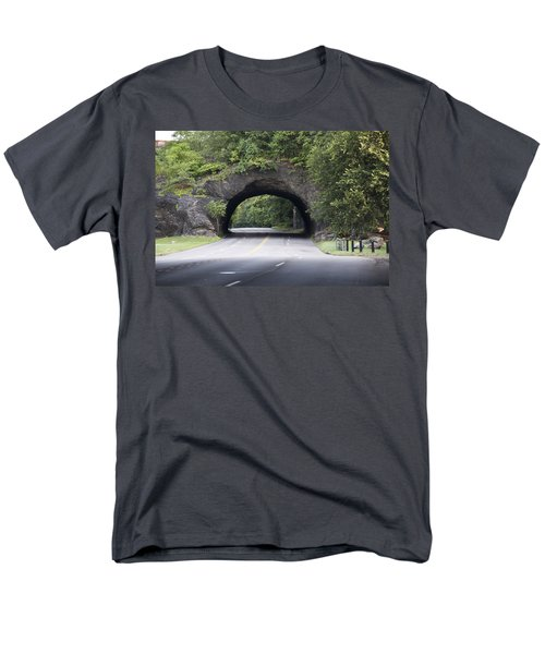Rock Tunnel on Kelly Drive T-Shirt by Bill Cannon