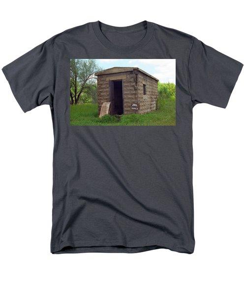 Route 66 - Texola Jail T-Shirt by Frank Romeo