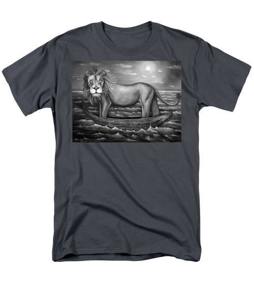 Sea Lion in bw T-Shirt by Leah Saulnier The Painting Maniac