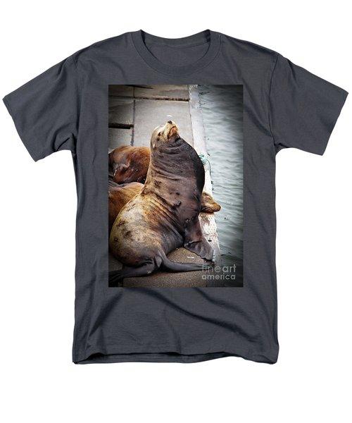 Sea Lion T-Shirt by Robert Bales