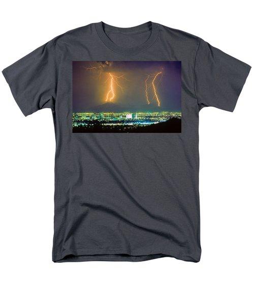 South Mountain Lightning Strike Phoenix AZ T-Shirt by James BO  Insogna