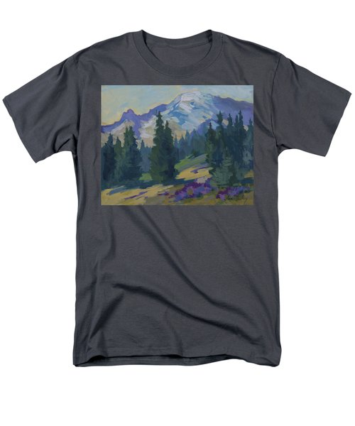 Spring at Mount Rainier T-Shirt by Diane McClary