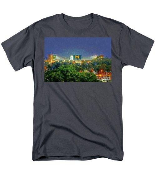 Stadium At Night Men's T-Shirt  (Regular Fit) by John Farr