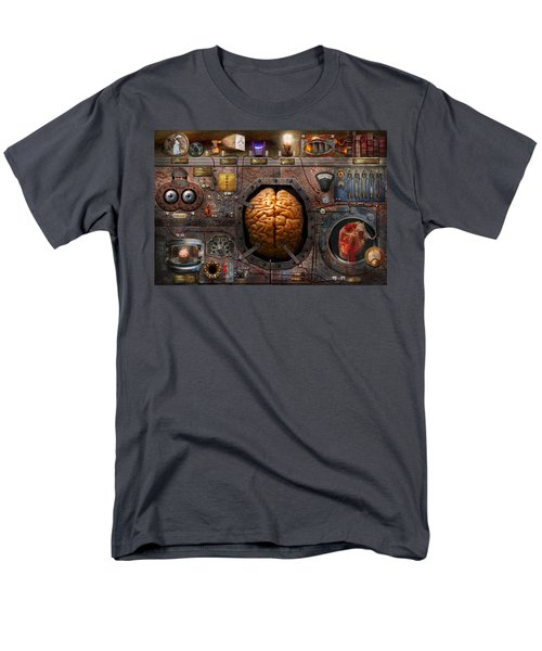 Steampunk - Information overload T-Shirt by Mike Savad