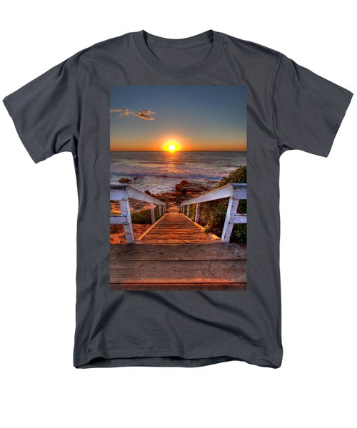 Steps to the Sun  T-Shirt by Peter Tellone