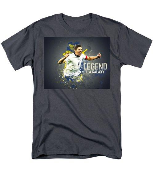 Steven Gerrard Men's T-Shirt  (Regular Fit) by Taylan Apukovska