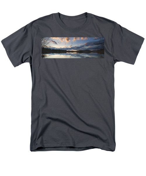Sunset Over Flying Pond in Vienna Maine T-Shirt by Keith Webber Jr