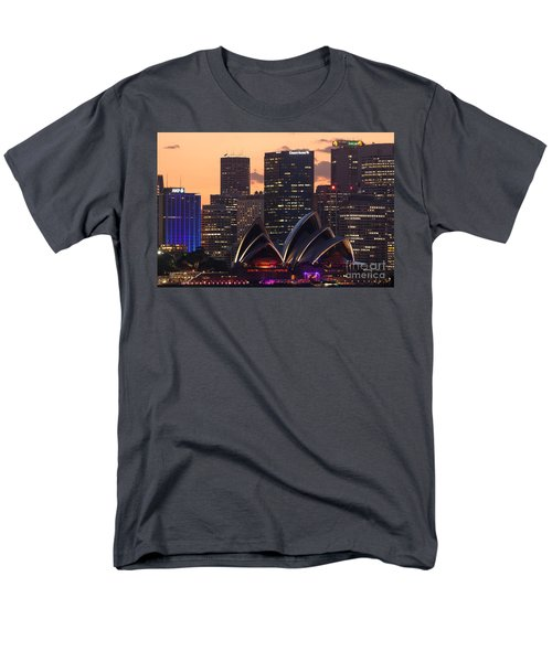 Sydney At Sunset Men's T-Shirt  (Regular Fit) by Matteo Colombo