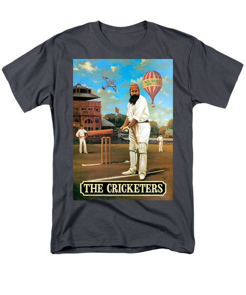 The Cricketers Men's T-Shirt  (Regular Fit) by Peter Green