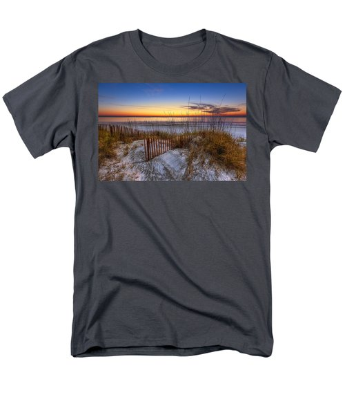 The Dunes at Sunset T-Shirt by Debra and Dave Vanderlaan