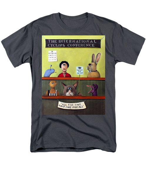 The International Cyclops Conference Men's T-Shirt  (Regular Fit) by Leah Saulnier The Painting Maniac
