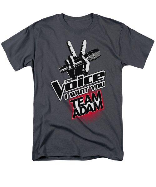 The Voice - Team Adam Men's T-Shirt  (Regular Fit) by Brand A