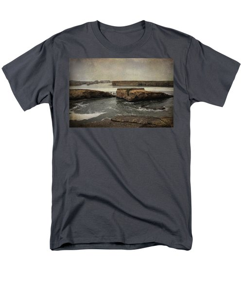 Three Fishermen T-Shirt by Laurie Search