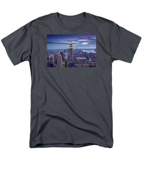 Top Of The World Men's T-Shirt  (Regular Fit) by Marco Crupi