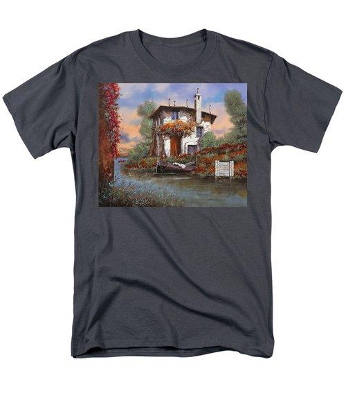 tramonto con bougainvillea T-Shirt by Guido Borelli