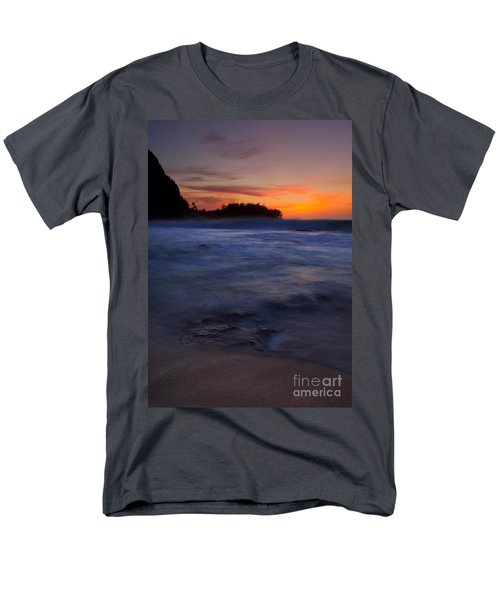 Tunnels Beach Dusk T-Shirt by Mike  Dawson