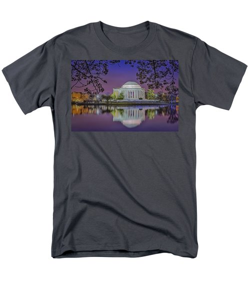 Twilight At The Thomas Jefferson Memorial  T-Shirt by Susan Candelario