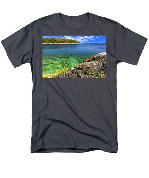 Violets at Georgian Bay T-Shirt by Elena Elisseeva