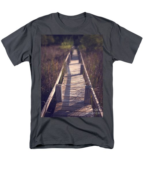 Walkway Through The Reeds Appalachian trail T-Shirt by Edward Fielding