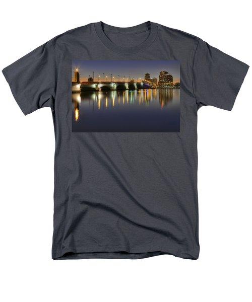 West Palm Beach at Night T-Shirt by Debra and Dave Vanderlaan