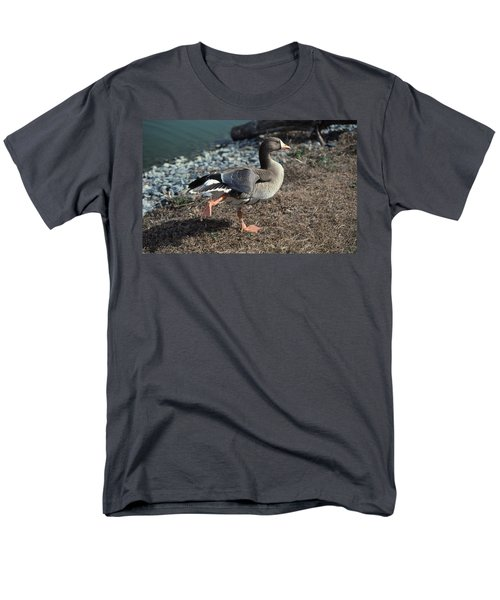 WHITE FRONTED GOOSE T-Shirt by Skip Willits