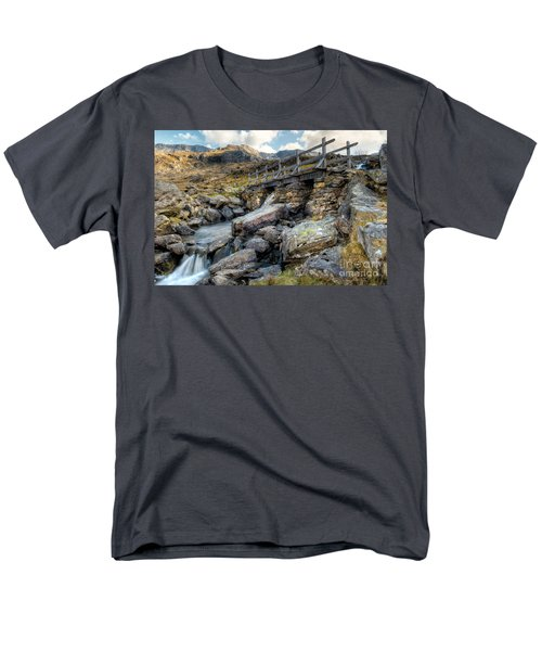Wooden Bridge T-Shirt by Adrian Evans
