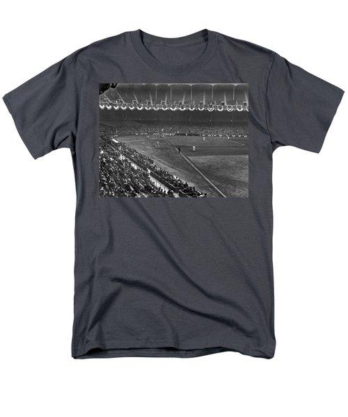 Yankee Stadium Game Men's T-Shirt  (Regular Fit) by Underwood Archives