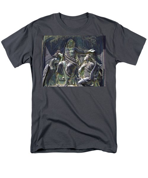 Zeus Bronze Statue Dresden Opera House T-Shirt by Jordan Blackstone