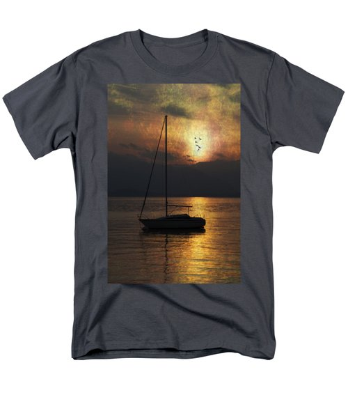 boat in sunset T-Shirt by Joana Kruse