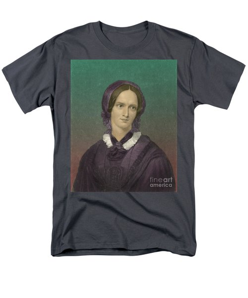 Charlotte Bronte, English Author T-Shirt by Photo Researchers