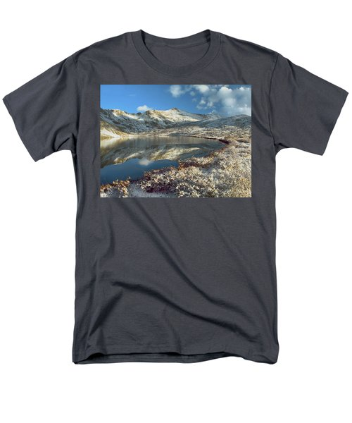 Geissler Mountain And Linkins Lake T-Shirt by Tim Fitzharris