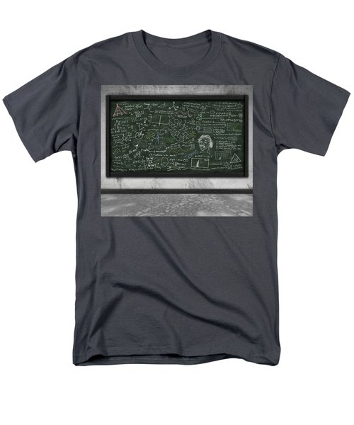 maths formula on chalkboard T-Shirt by Setsiri Silapasuwanchai