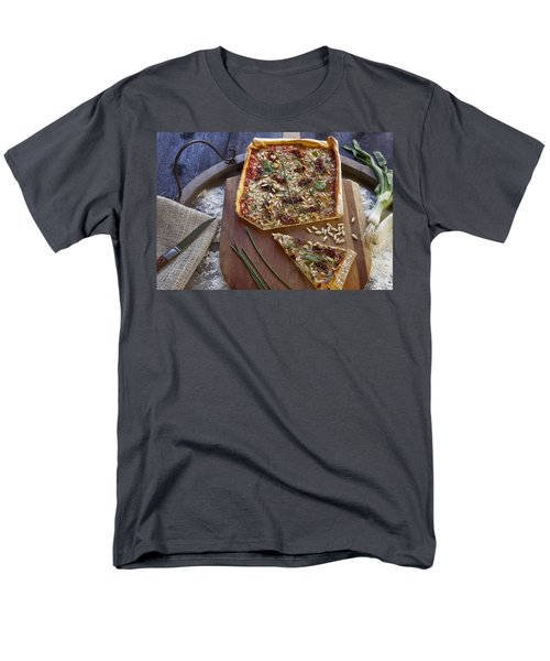 Pizza with herbs T-Shirt by Joana Kruse