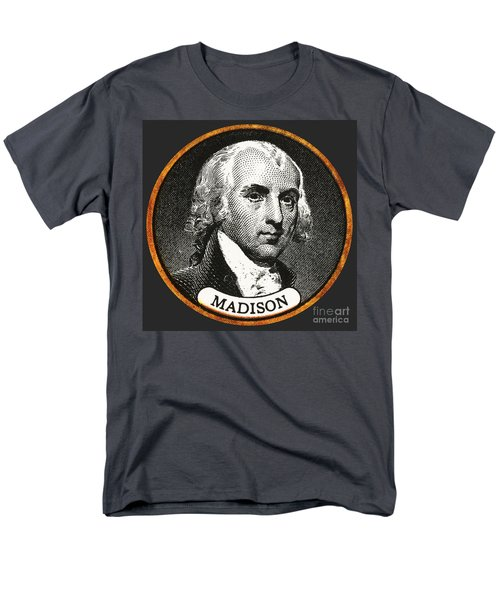James Madison, 4th American President T-Shirt by Photo Researchers