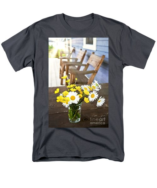 Wildflowers bouquet at cottage T-Shirt by Elena Elisseeva