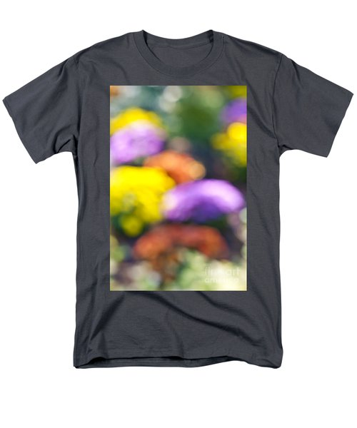 Flower garden in sunshine T-Shirt by Elena Elisseeva
