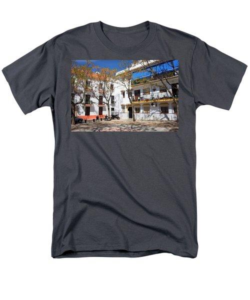 Apartment Houses in Marbella T-Shirt by Artur Bogacki