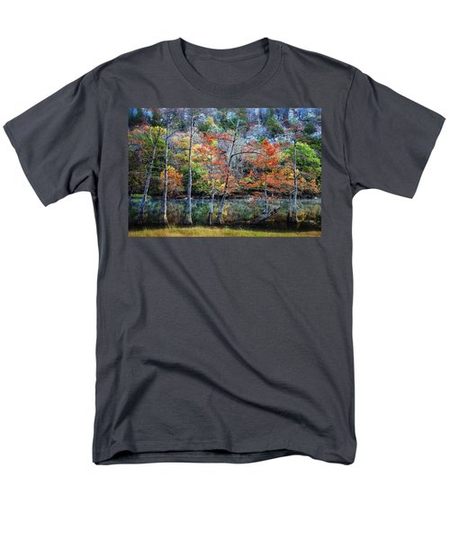 Autumn at Beaver's Bend T-Shirt by Tamyra Ayles