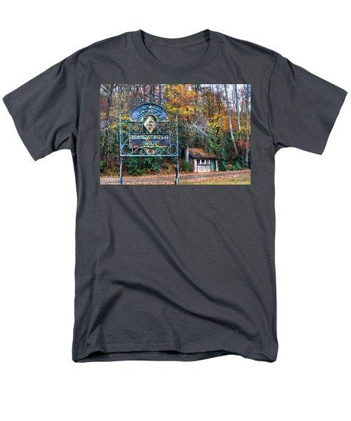Blacksmith Shop T-Shirt by Debra and Dave Vanderlaan