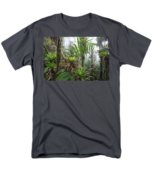 Bromeliads And Tree Ferns  T-Shirt by Cyril Ruoso