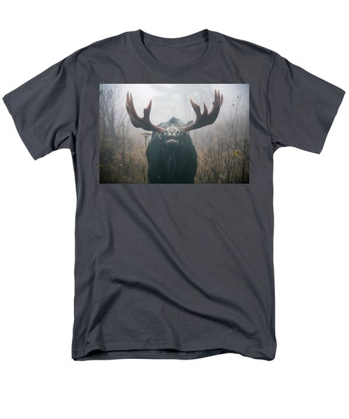 Bull Moose Testing Air For Pheromones T-Shirt by Philippe Henry