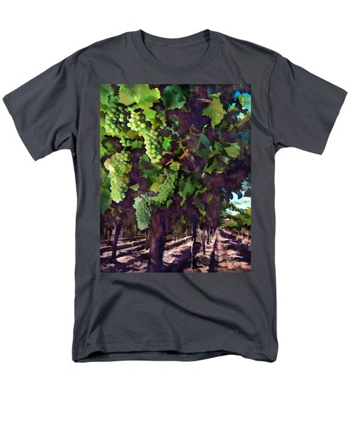 Cascading Grapes T-Shirt by Elaine Plesser