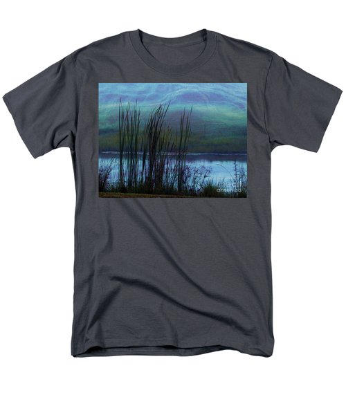 Cattails in Mist T-Shirt by Judi Bagwell