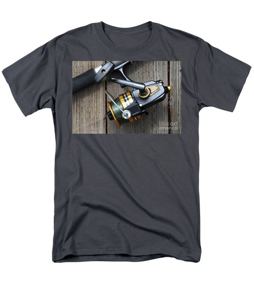 Fishing Rod and Reel . 7D13565 T-Shirt by Wingsdomain Art and Photography