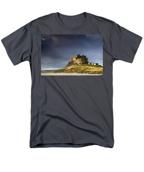Lindisfarne Castle On A Volcanic Mound T-Shirt by John Short