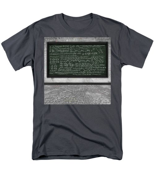 maths formula on chalkboard T-Shirt by Setsiri Silapasuwanchai