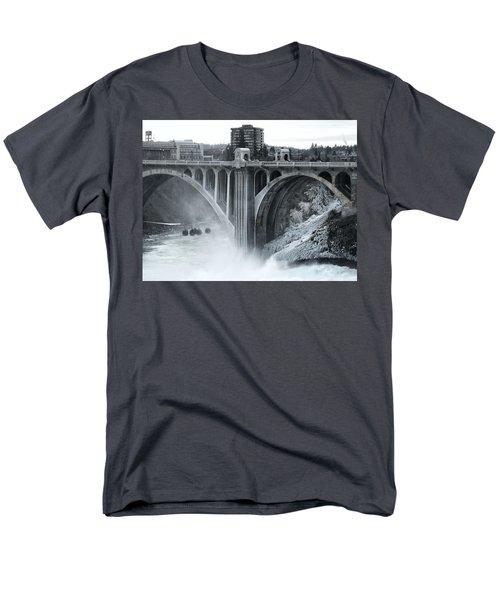 MONROE ST BRIDGE 2 - SPOKANE WASHINGTON T-Shirt by Daniel Hagerman