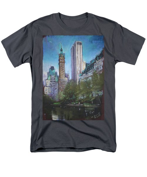NYC Central Park 2 T-Shirt by Ylli Haruni