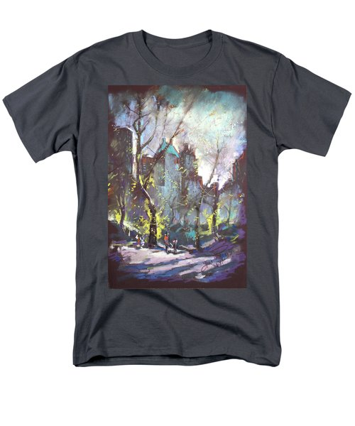 NYC Central Park Controluce T-Shirt by Ylli Haruni