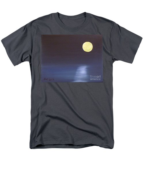 Offset Moon T-Shirt by Alys Caviness-Gober